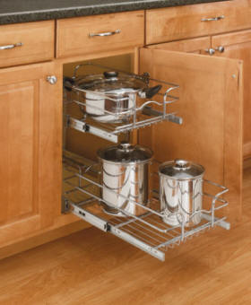 wire pullout shelving - Pull Out Kitchen Shelves